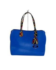 Dior Dior Addict Leather Tote Bag Blue