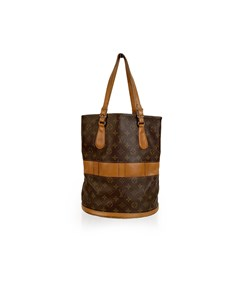 Louis Vuitton Vintage French Co. Made In Usa Monogram Large Bucket Bag