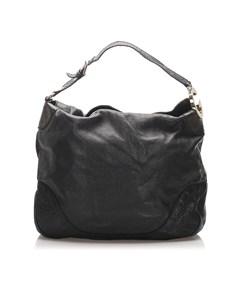 Gucci Charlotte Leather Tote Bag Black