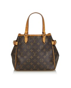 Louis Vuitton Monogram Batignolles Vertical Brown
