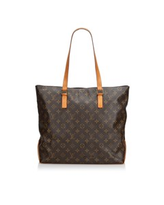Louis Vuitton Monogram Cabas Mezzo Brown