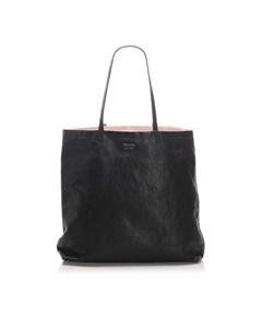Prada Leather Tote Bag Black