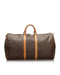Louis Vuitton Monogram Keepall 55 Brown