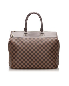 Louis Vuitton Damier Ebene Greenwich Pm Brown