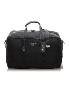 Prada Tessuto Duffle Bag Black