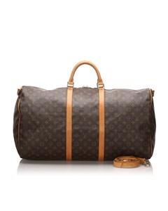 Louis Vuitton Monogram Keepall Bandouliere 60 Brown