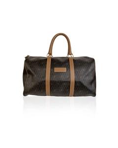 Christian Dior Vintage Monogram Duffle Duffel Weekender Bag
