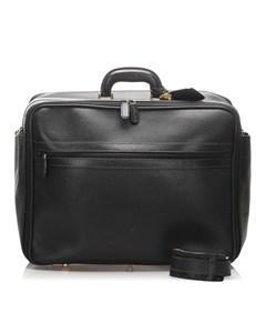 Gucci Leather Travel Bag Black