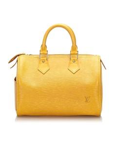 Louis Vuitton Epi Speedy 25 Yellow