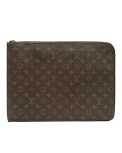 Louis Vuitton Monogram Poche Documents Portfolio Brown