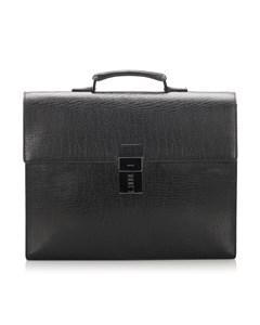 Gucci Leather Briefcase Black