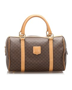 Celine Macadam Boston Bag Brown