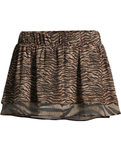 Mm4r781 Cover Skirt Brown Multi