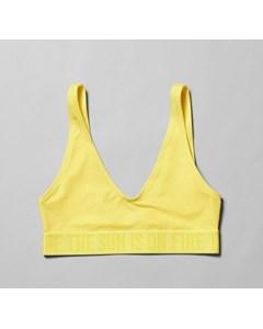 Soleil Swim Top Yellow