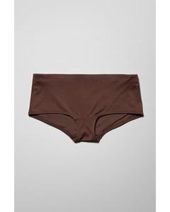 Ava Hipster Swim Bottoms Brown