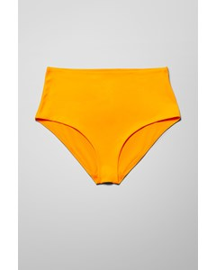 Ava High Waist Swim Bottom Yellow