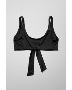 Anemone Swim Top Black