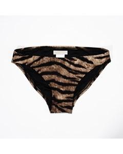 Bikiniunderdel-djurmönstrad