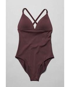 Gaze Swimsuit Burgundy