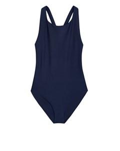 Racerback Swimsuit Blue