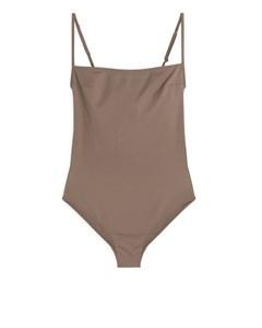 Swimsuit Khaki Brown