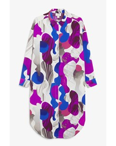 Shirt Dress Multi Print