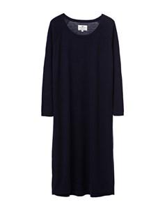 Amelia Knit Dress Deep Marine Blue