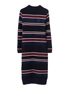 Julia Knit Dress Multi Stripe