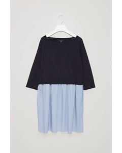 woven Dress Blue