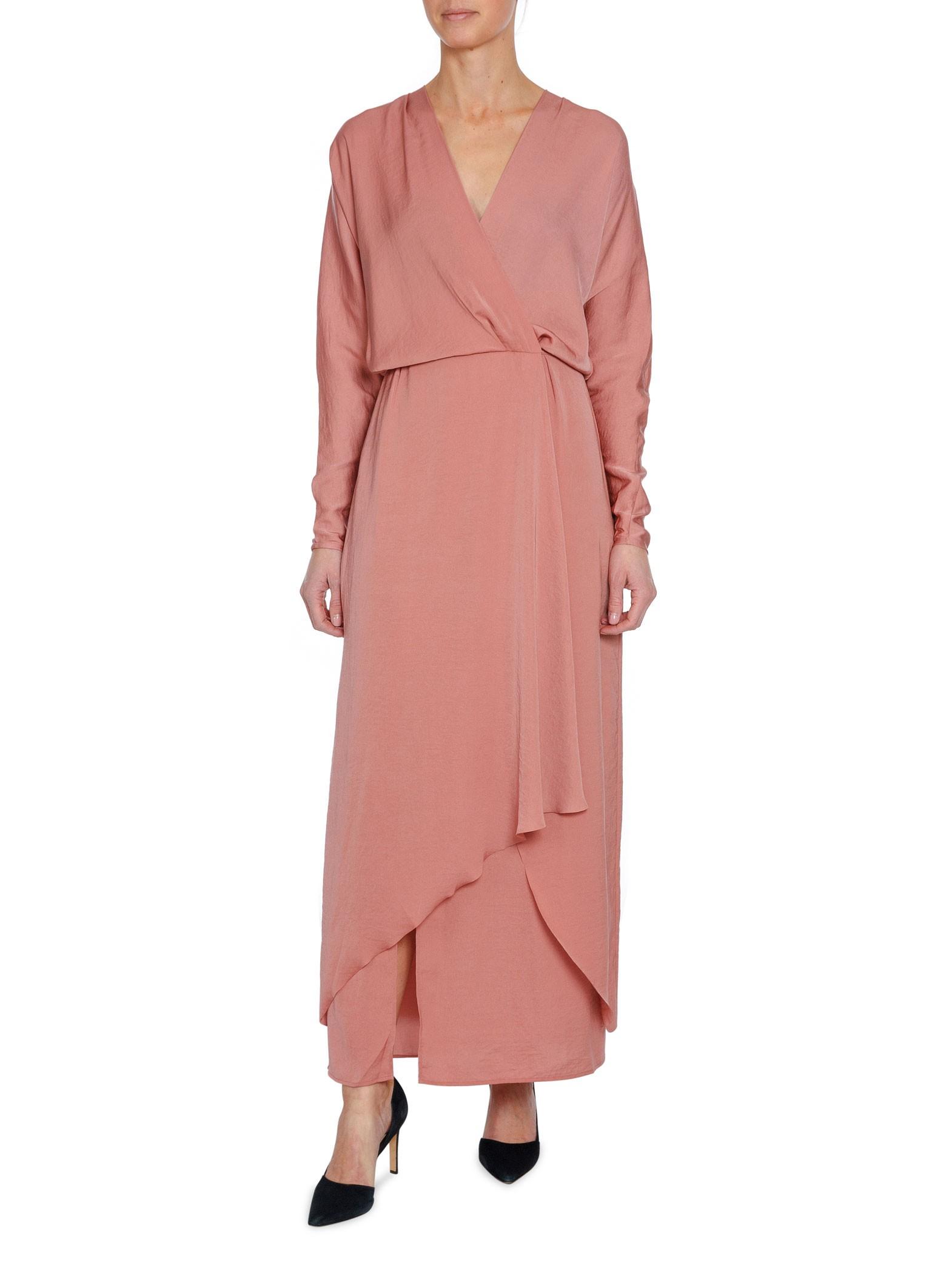 Filippa K Klänning Drapey Wrap Dress Salmo - a274989dc962