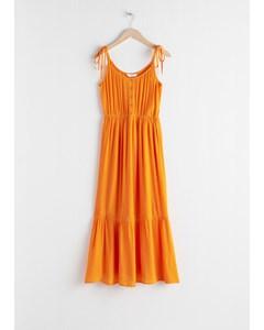 P2 Lowa jurk oranje