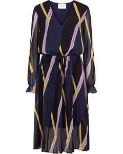 Gala Dress Diagonal Aop