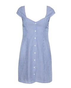 Sweetheart Mini Dress Blue Mix Blue Mix