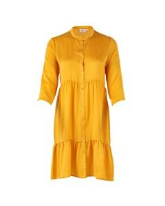 T6269, Woven Dress Above Knee Freesia
