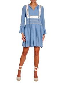By Malina Lexi Dress Coastal Blue