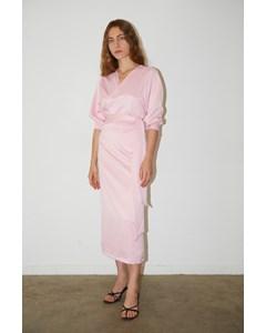 Cowry Dress Pink Foam
