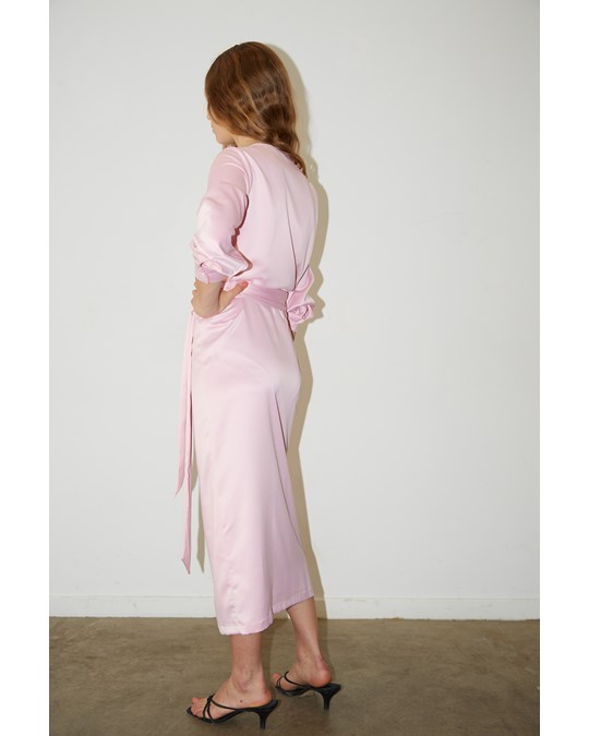 Aéryne Cowry Dress Pink Foam