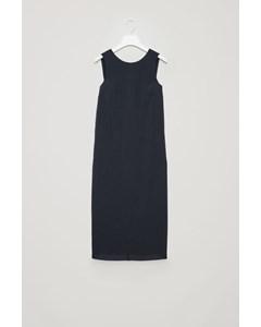V-back Sleeveless Dress Navy