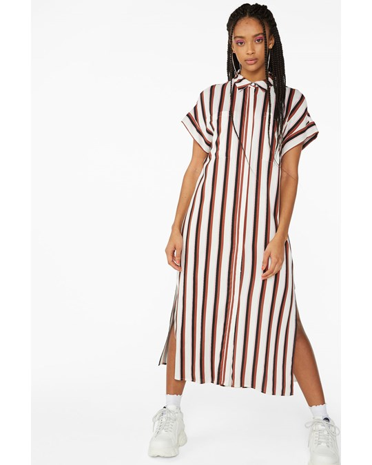 Monki Illy Dress White