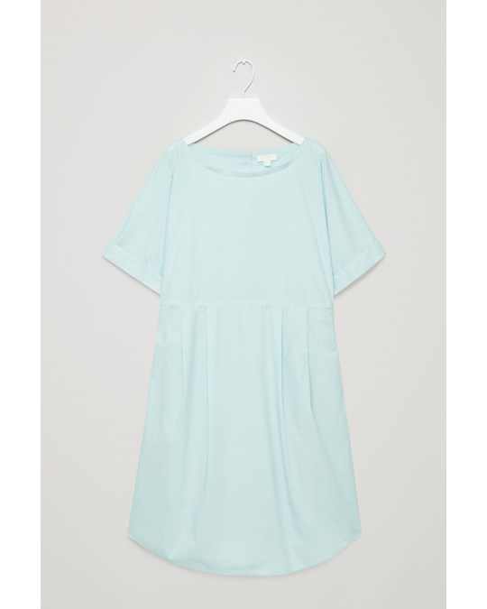 COS Dress Turquoise