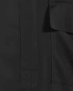 Paige Shirt Dress Black