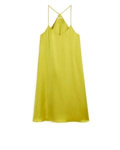 Strap Dress Yellow