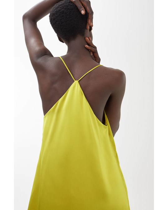 Arket Strap Dress Yellow
