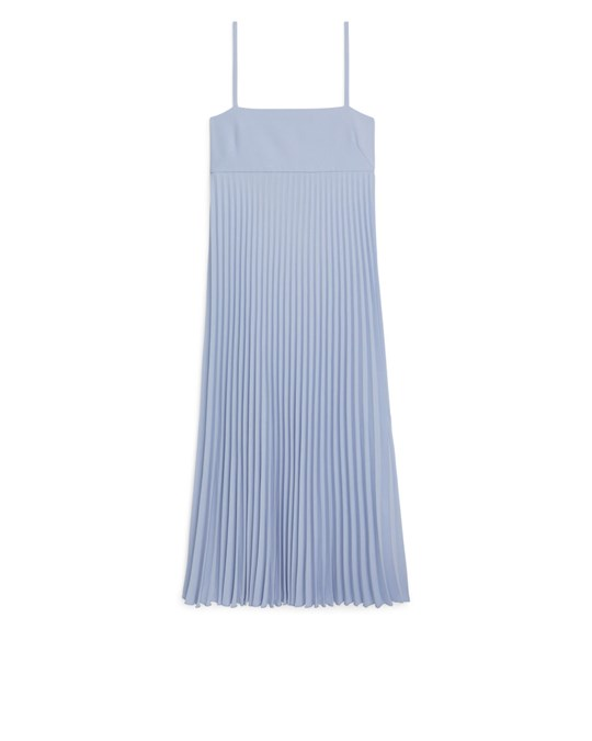 Arket Strap Dress Blue