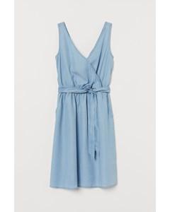 Sardinia Tencel Dress Blue