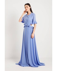Maxi Dress With Flounce