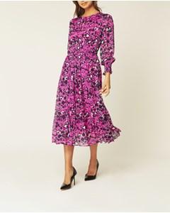 Sancia Dress Shadow Garden Pink
