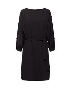 Dress Light Woven Midi Navy