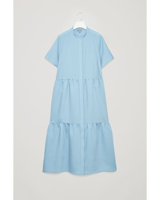 COS Ca Stirwind Dress Blue