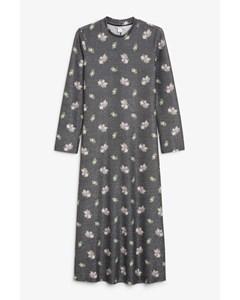 Glitter Lurex Maxi Dress Black Magic